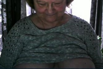 my granny shows her boobs