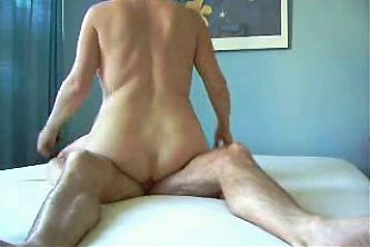 Granny fucks a cock and squirts.