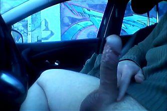 Car Flash 6 - Granny looks my cock