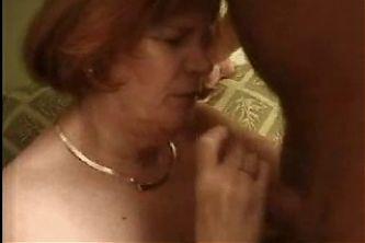 Fat Granny Loves The Cock