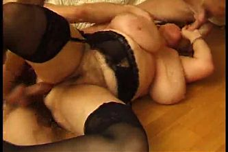 Huge Tits Mature 2 Gay Sock and Fuck Anal