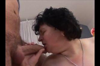 Saggy Tit Granny  Fucked