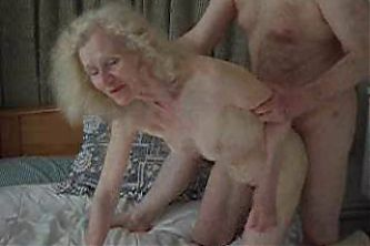 image Red bushed granny needs your sperm